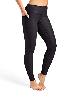 Leggings for Women (S - 3XL) - Plus Sizes - Stretch Workout Tights Wide Waistband - Side Pocket