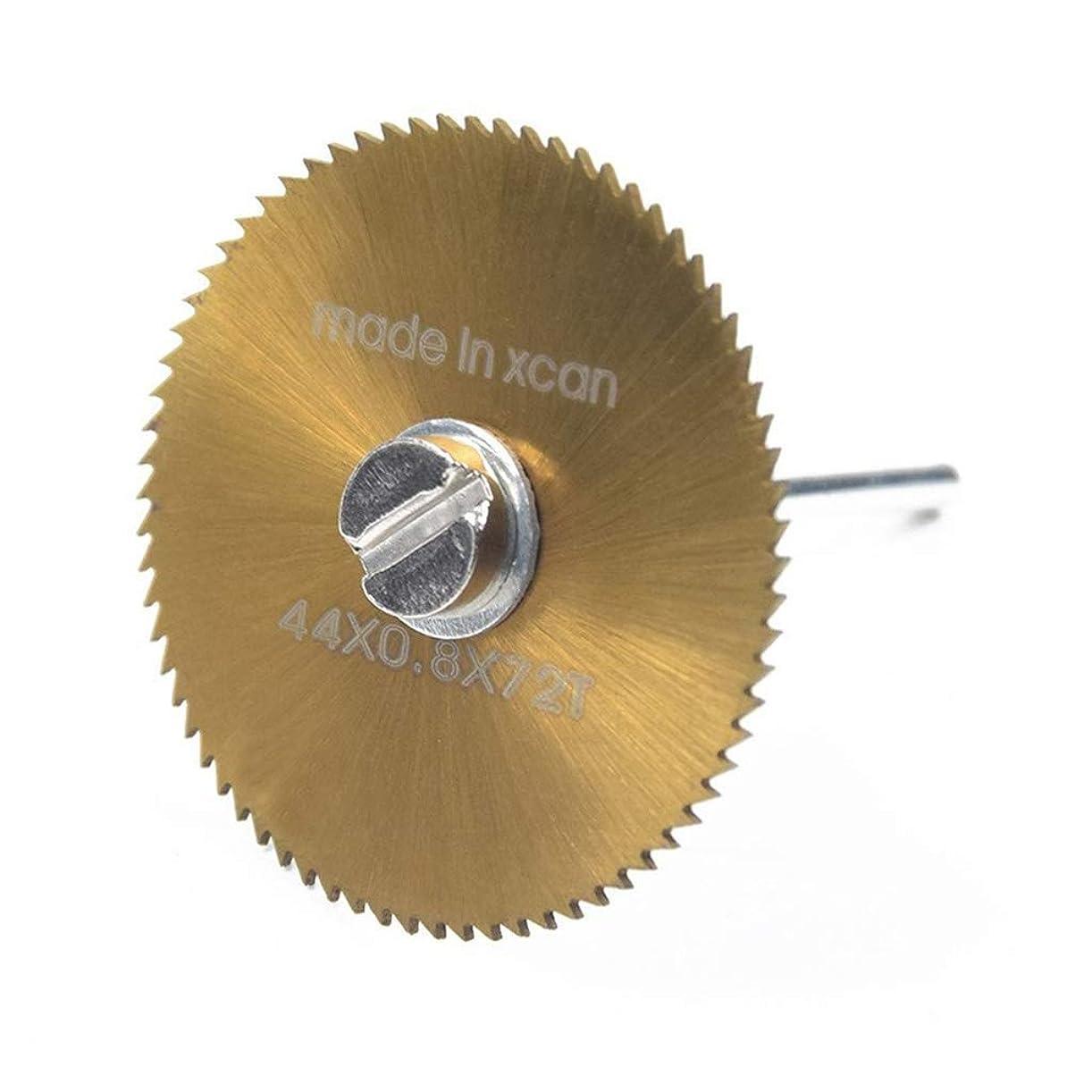 嫌なロボット従順YYG-YYG 高速鋼ソーブレードシンスモールゴールドチタン6セットのプラスチック製の切削工具電気研削ブリスターキットカット木工包装 鋸刃