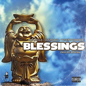 Blessings (feat. Diamond & Twenty3wayz)