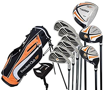 Complete Regular Flex Golf Club Set Judge Mens Graphite/Steel