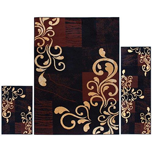 Home Dynamix Ariana Galil Area Rug 3 Piece Set (4'11