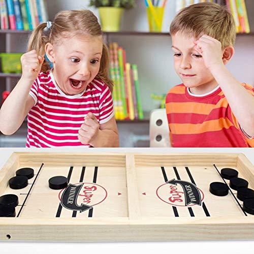 Xiton 1 Set Sling Puck Spiel Desktop Battle Katapult SchachstoßStange Eltern-Kind Puck Spiel Tisch Lernspielzeug Sets Brettspiel Sling Interaktives Brettspiel