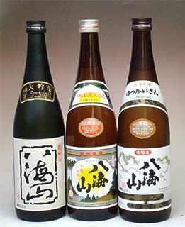 八海山大吟醸・清酒八海山・八海山本醸造720ml×3本セット
