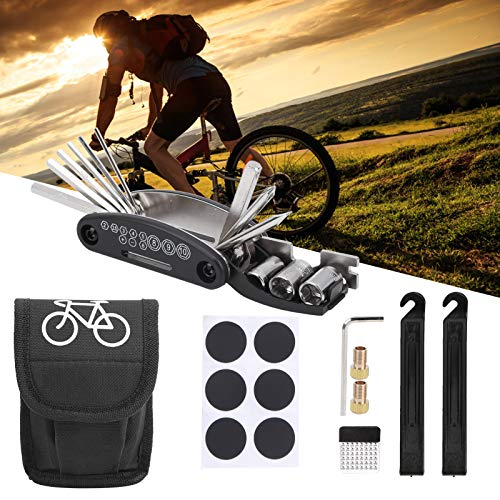 Gind Kit de Herramientas para Bicicletas, Kits de reparación de Bicicletas, Portátil Profesional Multifuncional para Bicicletas de Carretera Bicicletas de montaña