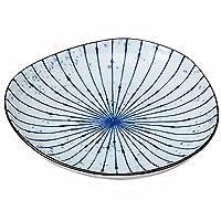 和皿 取り皿 一品料理/吹墨十草 三角5.0皿 /おしゃれ 日常 業務用 家庭用 Japanese plate