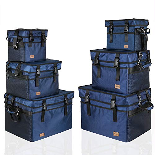 TOMSHOO 保冷バッグ 保温バッグ 断熱バッグ ソフト クーラーバッグ 折りたたみ式 お弁当箱 アウトドア 10L/18L/28L/37L/47L/76L保冷バッグ*1