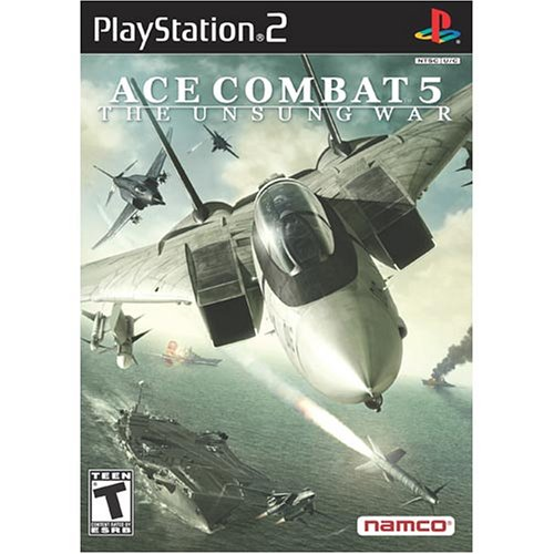 PS2 ACE COMBAT 5: THE UNSUNG WAR GREATEST HITS
