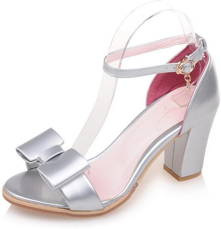 AdeeSu Womens Baguette-Style Mini-Size Soft-Toe Urethane Sandals SLC03756