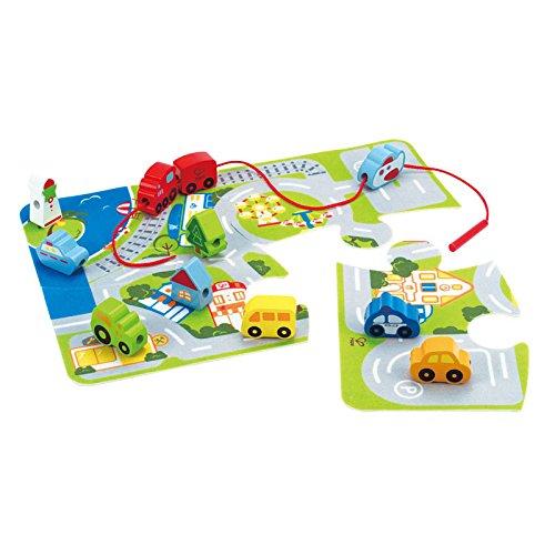 Hape E1022 E1022-City-Spielset, Sortier, Stapel Steckspielzeug