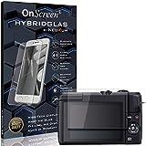 OnScreen Schutzfolie Panzerglas kompatibel mit Canon EOS M200 Panzer-Glas-Folie = biegsames HYBRIDGLAS, Bildschirmschutzfolie, splitterfrei, MATT, Anti-Reflex - entspiegelnd
