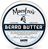 Maestro's Classic Mark of a Man Beard Butter, 8 Ounce