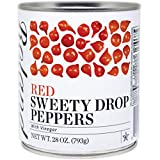 SWEETY DROP PEPPERS: Bite-size peppers add a unique touch to salads and antipasti SWEET AND CRUNCHY: Sweet peppers with a tangy, slightly-spicy kick READY TO EAT: Use the whole peppers directly from the can in cold or hot dishes RESTAURANT QUALITY: I...