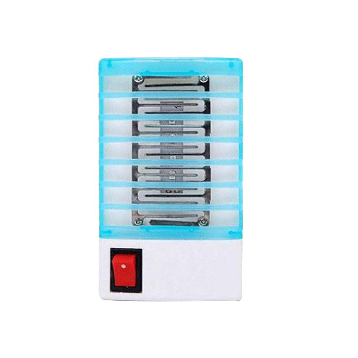 ネックレットワークショップ隠された光触媒蚊キラーランプ蚊忌避静かなバグ昆虫ライトペストコントロールLED UVライトナイトランプ - ランダム