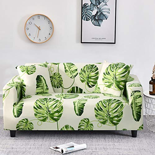 WXQY Funda elástica para sofá, sofá elástico, sillón en Forma de L, Funda combinada para sofá, Toalla, Funda para sofá, Funda Protectora para Muebles A19, 1 Plaza