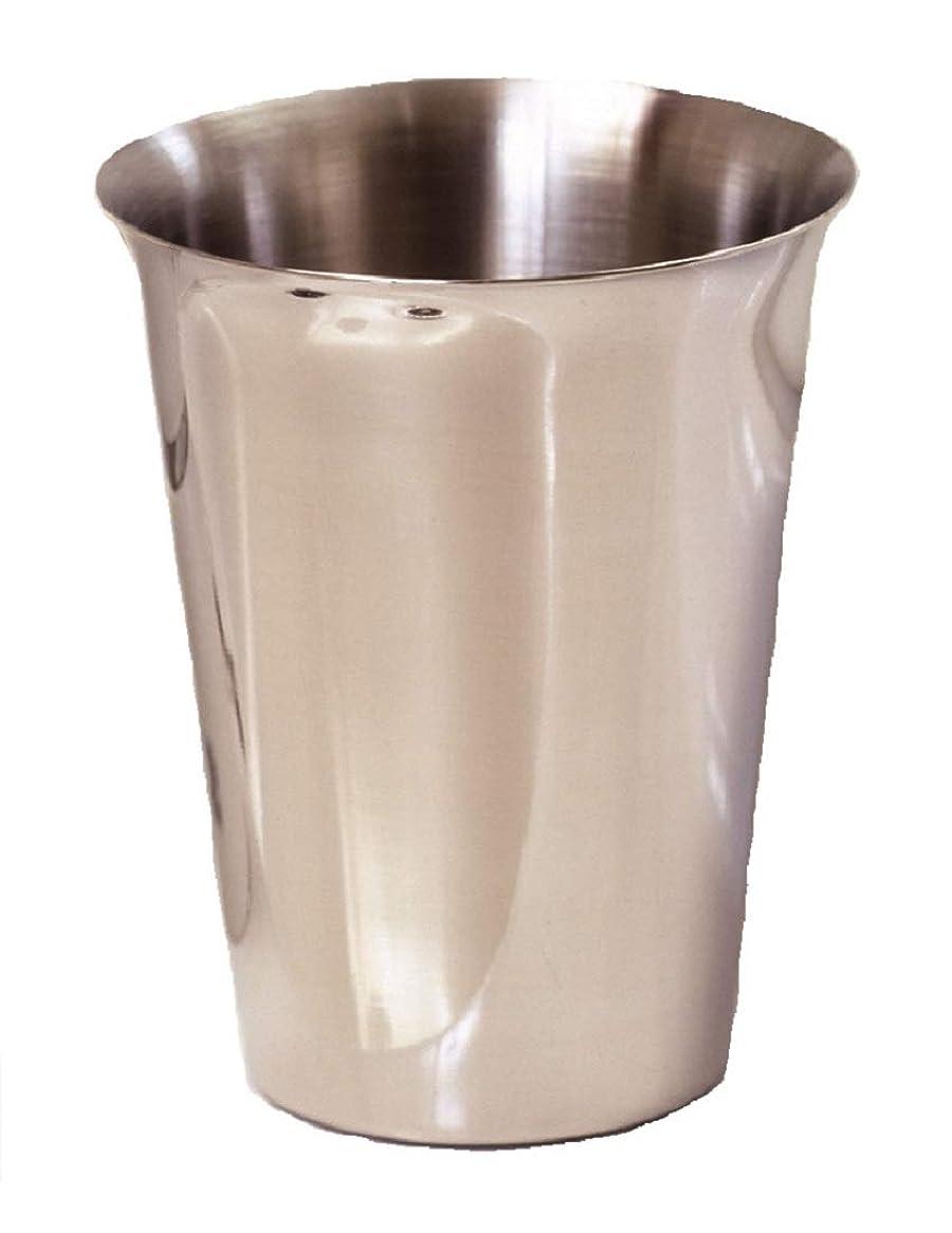 立法経済意気込み歯医者さんのサビに強いコップ(オールステンレス製) 在庫処分品