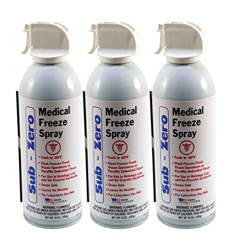 Medical Freeze Spray - Max Professional - (3X) 10oz Units - Superior R134 Refrigerant!
