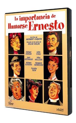 La Importancia De Llamarse Ernesto (Import Dvd) (2014) Michael Redgrave; Richa