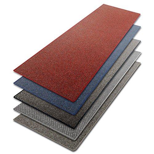 casa pura Teppich Läufer in zahlreichen Größen | beige, gepunktet | Qualitätsprodukt aus Deutschland | Teppichläufer mit GUT Siegel | Küchenläufer, Flurläufer (80x200 cm)