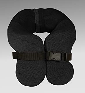 Danmar Products Hensinger Head Support Mounted with High Back - Small (Black Lycra Cover)