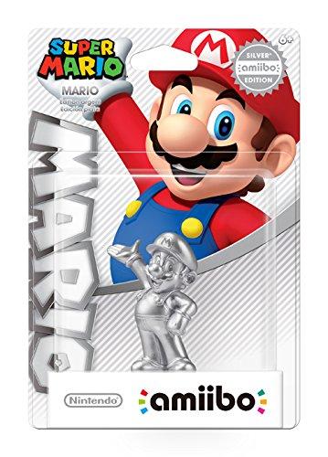 『amiibo アミーボ シルバーマリオ Mario Silver Edition 【並行輸入品】』のトップ画像