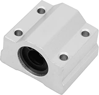 Linear Bearing Slide Block 25mm SCS25LUU Aluminum Alloy Long Rail Linear Motion Ball Bearing Slide Bushing for Industrial 1Pcs