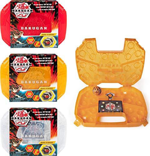 Bakugan 6045138 Storage Case, Aufbewahrungskoffer mit extra Bakugan Basic Ball, unterschiedliche Varianten