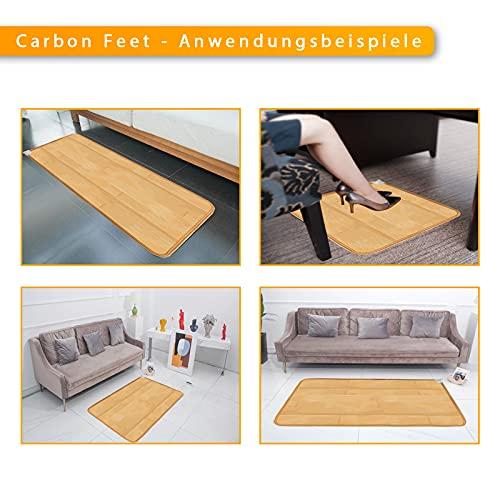 Wärmematte 105x200cm 55°C Infrarot-Heizung Mobile Fußbodenheizung elektro Bild 5*