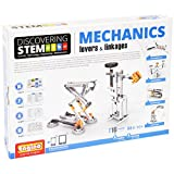 Engino Discovering STEM Mechanics Levers & Linkages | 16 Working Models | Illustrated Instruction Manual | Theory & Facts | Experimental Activities | STEM Construction Kit