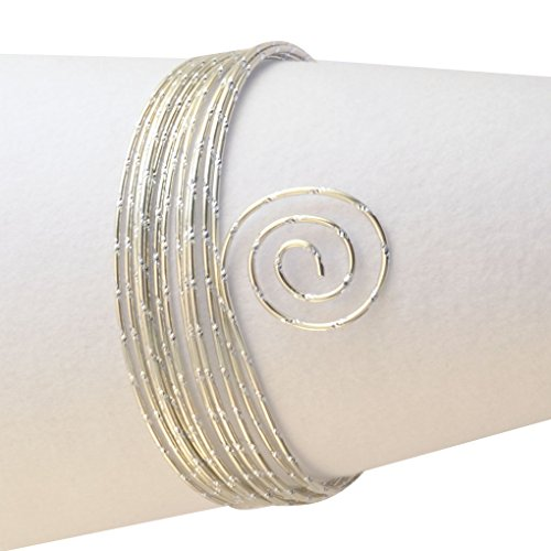 Vaessen Creative Aluminiumdraht, Perlweiß, m, Aluminium Wire, Basteldraht, Dekodraht, Floristikdraht Aludraht Diamant Schmuck 2 mm x 5 Meter | Biegsam Schmuckdraht Perlen, Pearl, 500 x 0.2 x 0.2 cm