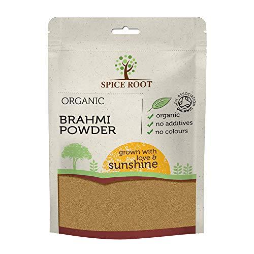Bio Poudre de Brahmi 200g (Bacopa Monnieri) - Certifié Biologique, Qualité Supérieure | Vegan | Ayurveda