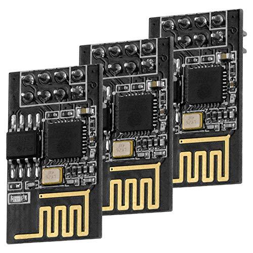 AZDelivery 3 x ESP-01 esp8266 WiFi Modulo per Arduino, Raspberry Pi e Microcontroller con eBook
