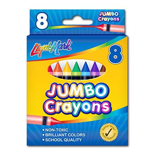 LIQUI-MARK 8pc Crayons Jumbo Set