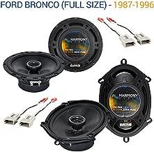 ford bronco speakers