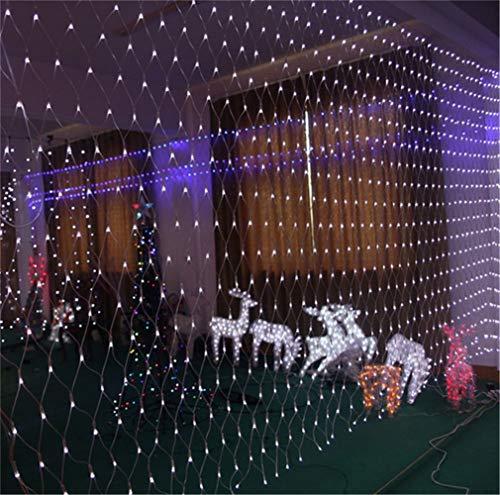 Hada Luz LED Net, Net Luz 3M 2M X 320 LED de luz de malla La luz neta jardín de la luz del árbol de secuencia de hadas de interior al aire libre luces decorativas 8 modos del árbol de navidad Jardín