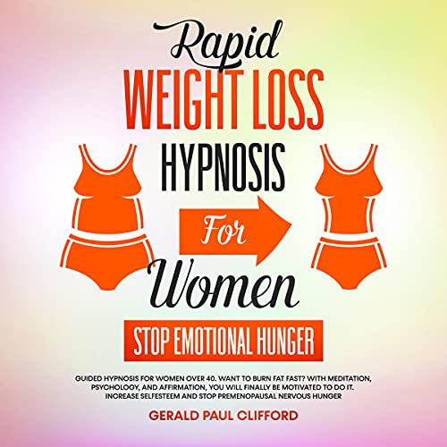 Rapid Weight Loss Hypnosis for Women: Stop Emotional Hunger cover art