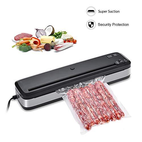 Bycws Machine de scellage sous Vide, pour Aliments avec système Compact Compact de scellage sous Vide
