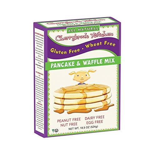 Cherrybrook Kitchen Gluten Free Pancake & Waffle Mix, 18 oz (Pack of 6)