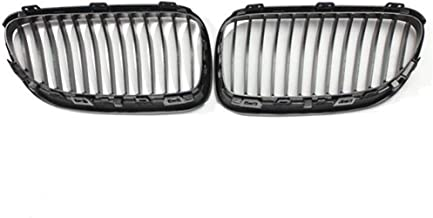 NIANzai-Air Compatible with BMW E92 E93 3-Series LCI Face Lift 2DR Front Kidney Grille Grills Matte Black