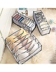 Slaapzaal kast organisator voor sokken huis gescheiden ondergoed opbergbox 7 roosters beha organisator opvouwbare lade organisator