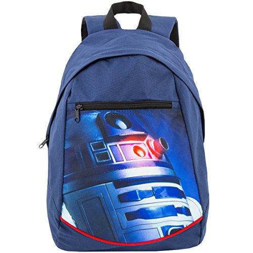 Disney STAR WARS R2D2 Kinderrucksack Rucksack blau