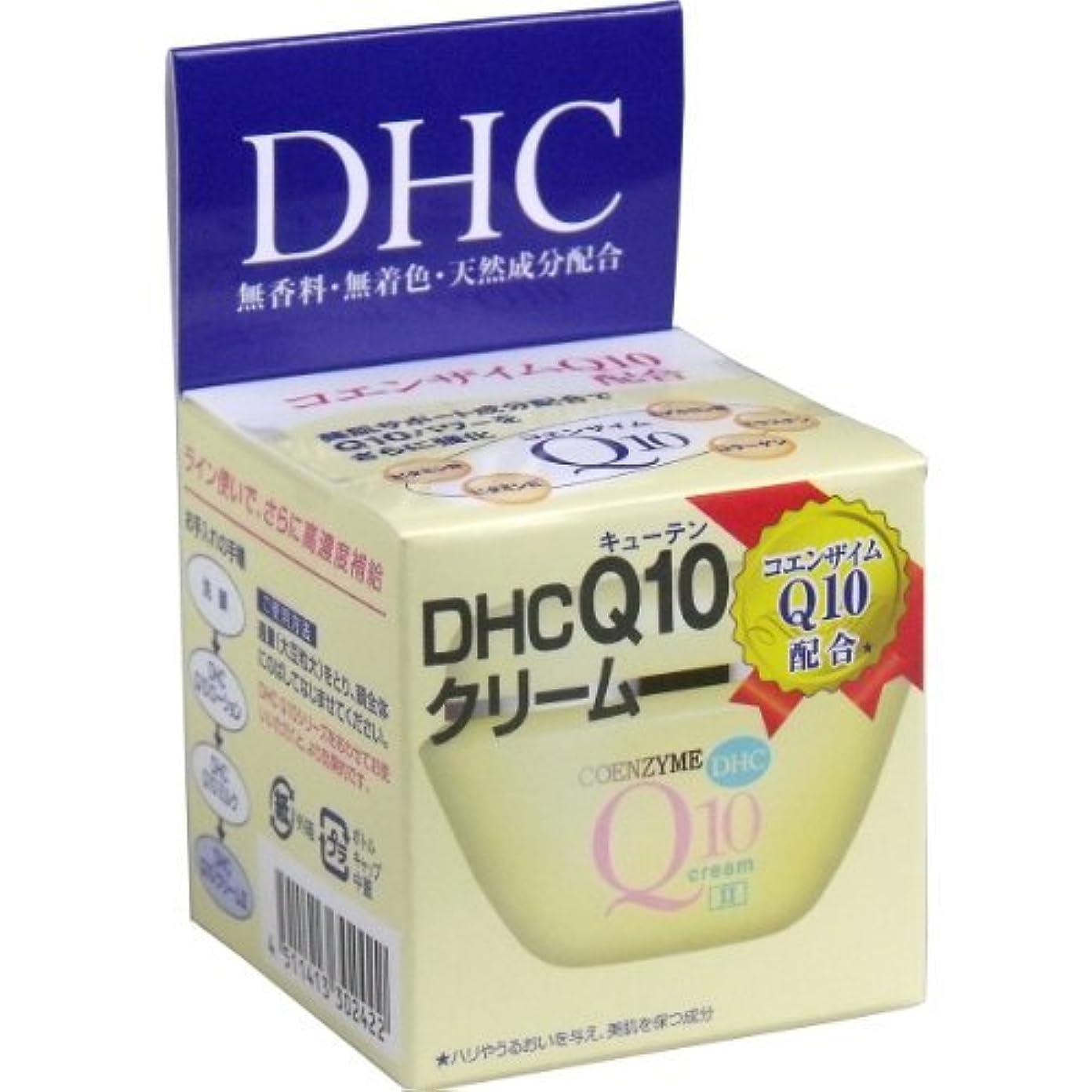 肖像画ホテル動機付けるDHC 3個セット Q10クリームII SS 20g