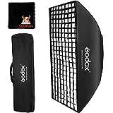 GODOX 60cm x 90cm Studio Flash Honeycomb Grid Softbox con Bolsa de Transporte para Bowens Mount Flash Speedlite (SB-FW6090)