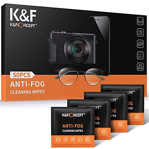 K&F Concept - Gamuza Antivaho 50 Unidades, Paños Limpieza de Microfibra Envasado al...