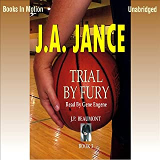 Trial by Fury audiobook cover art