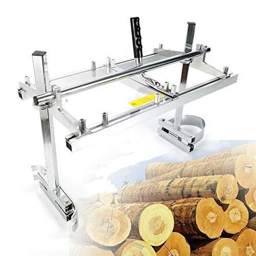 Mobile Sägewerk, Holzspalter Plattenstärke Kettensäge Plattenstärke Kettensäge Sägehilfe für 14'' bis 24'' Holz Log Brett Gartengeräte