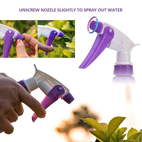 SELOOT Gardening Tools Set, Gardening Planting Tools Set Home Gardening Flowers Vegetables Potted Trim Loosing Planting Tools (5 Piece Purple)