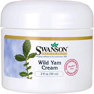 Swanson Wild Yam Cream 2 fl Ounce (59 ml) Cream
