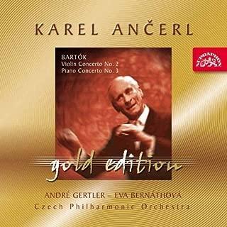 Karel Ancerl Gold Edition Vol.22. Bart?3k - Violin Concerto No.2; Piano Concerto No.3 by Czech PO (2003-07-14)
