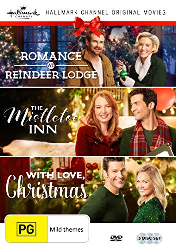 Hallmark Christmas 3 Film Collection (Romance at Reindeer Lodge/The Mistletoe Inn/With Love Christmas)