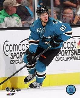 Tyler Kennedy San Jose Sharks 2013-2014 NHL Action Photo 8x10